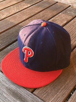 free shipping 5a7be 58dfe Philadelphia Phillies Authentic Alternate 59Fifty On-Field Fitted Cap Hat 7  3 8