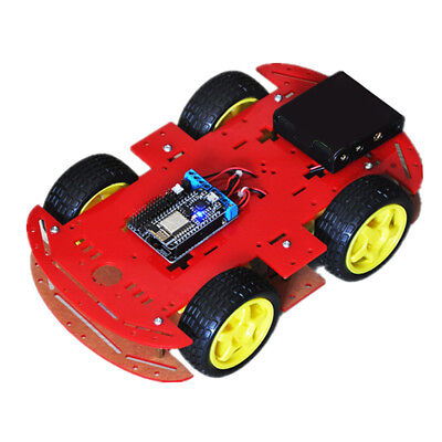 Smart Robot Car Chassis Kit NodeMCU Motor Board For Arduino Remote Control
