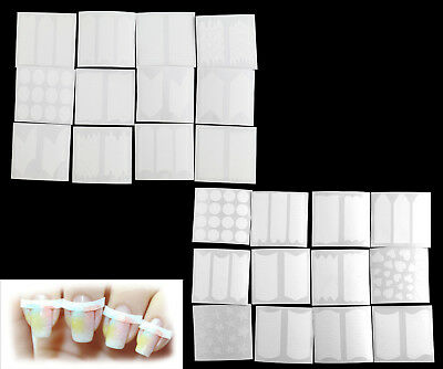 3D Nail ilArt Art Sticker French Tip Manicure Guides Stickers Smile Line Decal