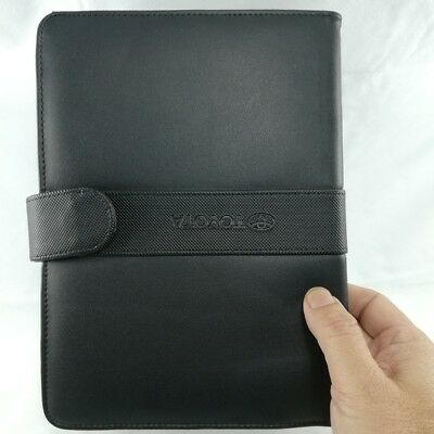 New black colored leather book cover for execusive person