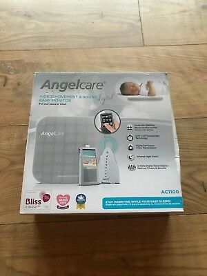 Angelcare video, movement & sound baby monitor AC1100 (movement mat brand new)