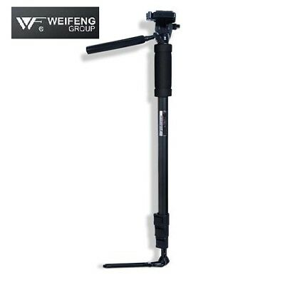 Weifeng Camera Monopod Tripod Unipod Fluid Head Holder Travel DSLR Camcorder DV