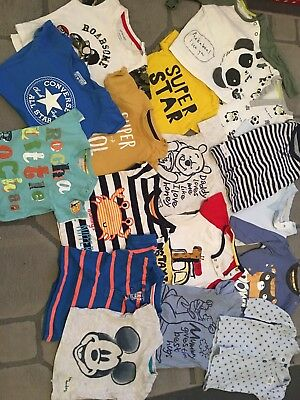 6-9 Month Georgous Baby Boy Top Bundle X17 Items