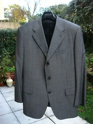 2ac5dbf581c COSTUME CHRISTIAN DIOR Gris Antracite Homme Taille 58 - EUR 250