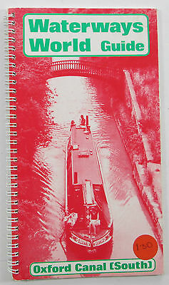 Old vintage Waterways World Guide - Oxford Canal (South) - 1981
