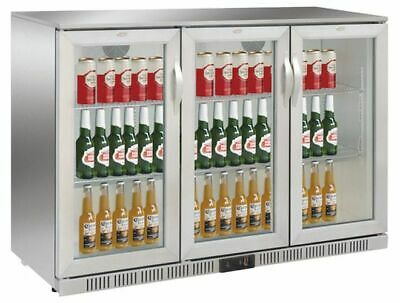 Refrigerator, 1350x520x900 mm, 330 L,Stainless Steel