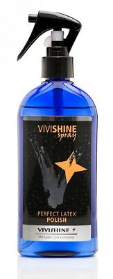 VIVISHINE Perfect LATEX POLISH SPRAY 1A für perfekten GUMMI Glanz