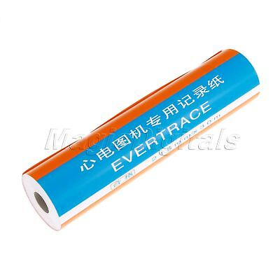 1 Roll ECG Thermal Printing Paper For 12-channel ECG EKG Print Paper 215mm*30m