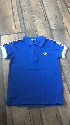 Boys Fred Perry Polo Shirt Age 5-6yrs