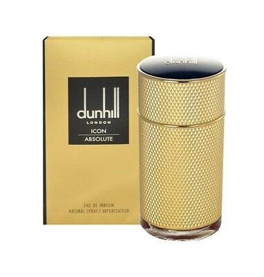 Alfred Dunhill Icon Absolute EDP 50ml Eau de Perfume for Men New