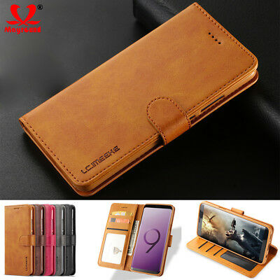 Case Cover For Samsung Galaxy Note 9/8 S9/8 Plus Flip Leather Wallet Card Holder