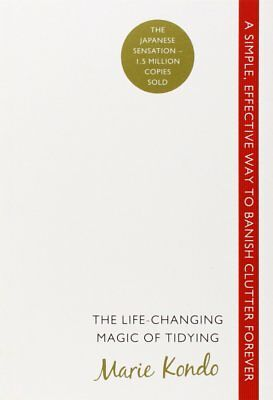 MARIE KONDO-The Life-Changing Magic of Tidying: A simple, effective way BOOK NEW