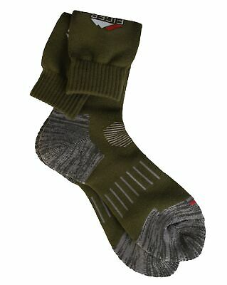 Eiger ProFit Socken 44/47 - 9/12 Olive Green Outdoor Strümpfe 44 - 47 NEW