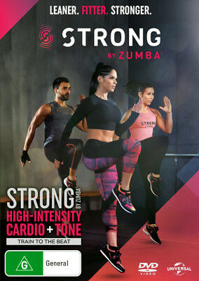 Strong by Zumba  - DVD - NEW Region 4, 2