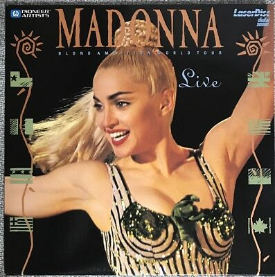 Madonna「Blond Ambition World Tour Live」  MUSIC Laser Disc NTSC LD JAPAN