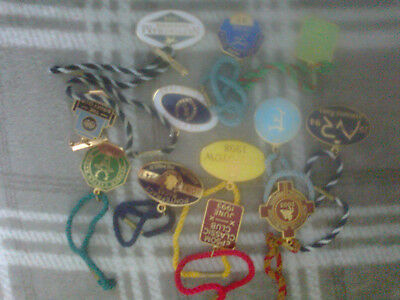 *MEGA LOT*   * 12 * X  COLLECTABLE HORSE Racing Badges  *FREE-*P-P*