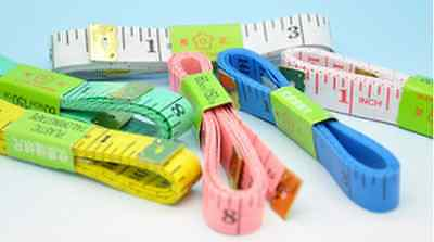 2 PCS Color Soft Flat Ruler  Sewing Tailor's Tape Measure Body Measuring Ruler