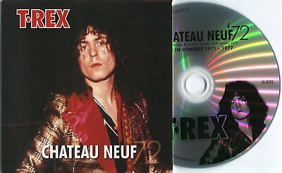 Marc Bolan / T.rex : 'chateau Neuf 1972' - Easy Action Promo Cd (Part Of Set)
