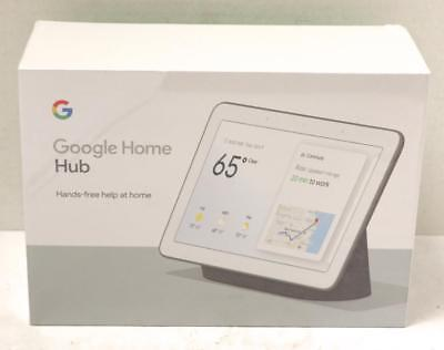 "NEW - Google Home Hub with Google Assistant Smart 7"" Display - Charcoal"