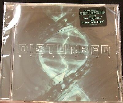 Disturbed -Evolution (Brand New CD 2018)