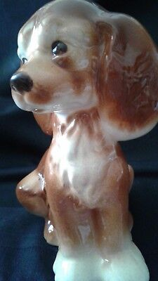 Cute Vintage Royal Copley Cocker Spaniel Figure