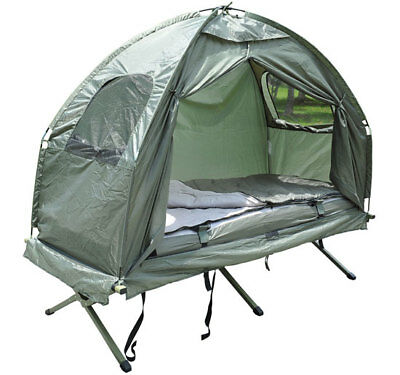 Camp Bed With Tent, Sleeping Bag And Air Mattress