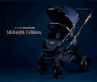iCandy Peach Midnight Edition pushchair & Carrycot NEW WITH wrnty
