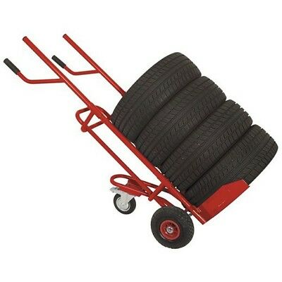 TIRE TRANSPORT TROLLEY - HAND TROLLEY FOR TIRES, WHEELS, LOAD UP To 150Kg