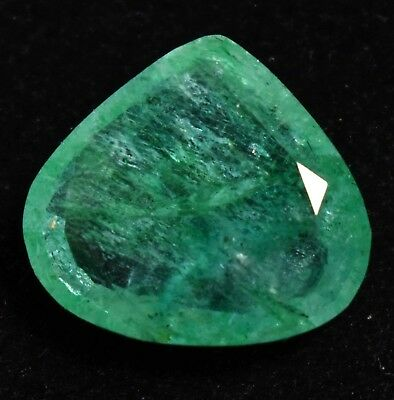 7.10 Ct Natural Green Colombia Emerald AGSL Certified Loose Gem Stone From Muzo