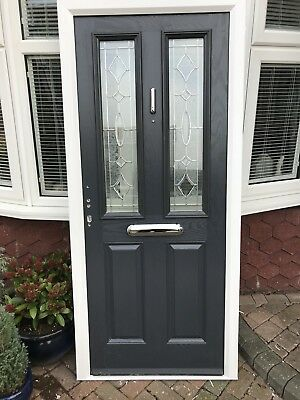timeless design 573c9 fc0a4 COMPOSITE FRONT DOOR anthracite Grey