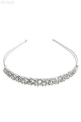 9FBD Elegant Crystal Rhinestone Wedding Party Bridal Tiara Headband Glitter
