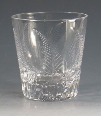 STUART Crystal - ELLESMERE Cut - Straight Tumbler Glass / Glasses - 3 1/2""