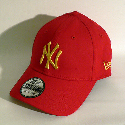 New York Yankees Cap - New Era 39 Thirty Cap - Baseball - S-M - NY Yankees - Neu