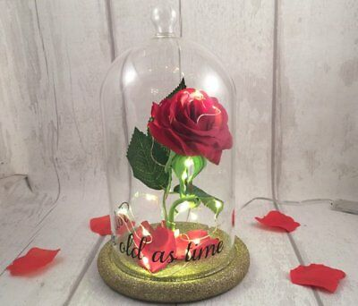 Beauty And The Beast Inspired Enchanted Rose Light - Mother's Day WEDDINGS