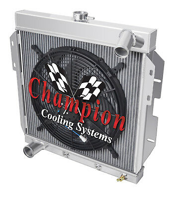 3 Row Reliable Champion Radiator for 1977 1978 Ford Mustang II V8 Engine
