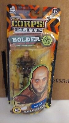 Team Command Action Figure The Corps Elite NEW Bolder Conner