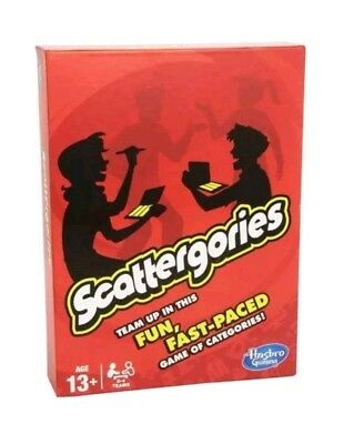 Hasbro A5226 Scattergories Board Game - Brand New