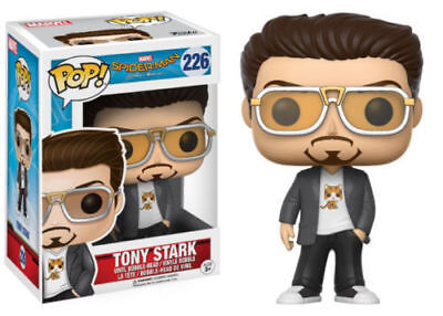 Funko Pop! Marvel's Spiderman Homecoming Tony Stark #226 Vinyl Figure New in Box