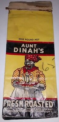 Old Aunt Dinah's Coffee Bag   Simpson Coffee Co. Greenville,S.C. South Carolina