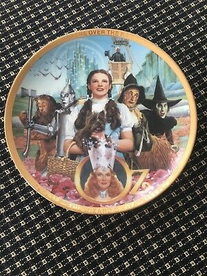 """The Wizard of Oz """"Fifty Years of Oz"""" 50th Anniversary Collector Plate Hamilton"""