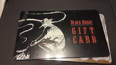 New $40 Black Angus. Gift Card