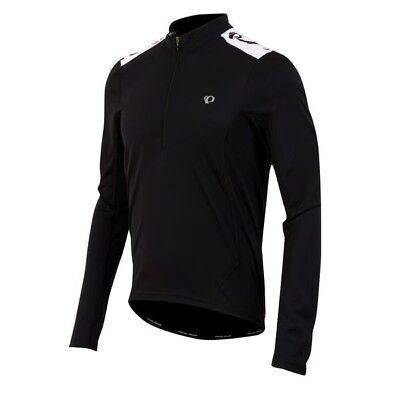 Pearl iZUMI Select Quest Long Sleeve Cycling Jersey, Black - Size Small