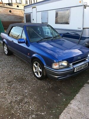 1990 Xr3i LIMITED EDITION XR3 *STUNNING CAR*DRIVE AWAY*NO MOT