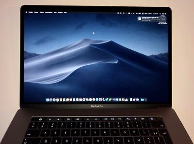 MacBook Pro 15 pouces Touch Bar 2,9 GHz 16 Go SSD 2 To