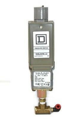 Square D 9012 GNG-5 Pressure Switch 3-150 PSI 0240776031