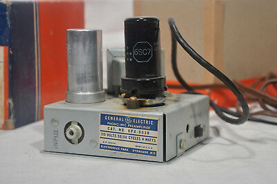 (1) GE Phono pre-amplifier, for GE VR cartridges