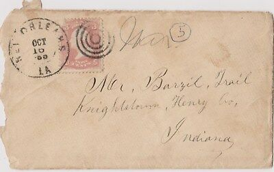 Civil War - 28th US Colored Troops  - 25th Corps - Letter - Indiana
