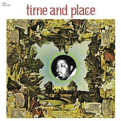 Lee Moses - Time And Place New Sealed Reissue LP [Yellow Vinyl]