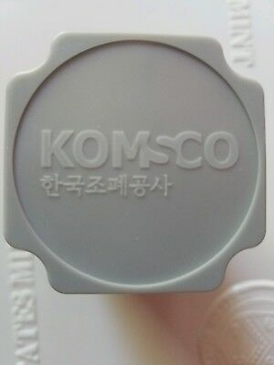 2017 Chiwoo Cheonwang 1 Oz Silver Unopened Mint Tube 25 Coins