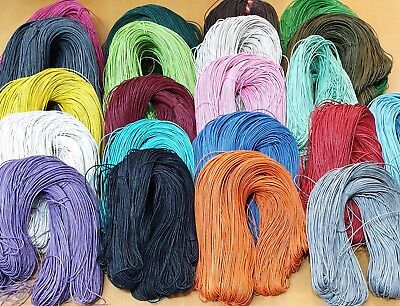 Waxed Cotton Cord 1.5mm 10Metre Buy 3 Get 3 Free 21 Colours
